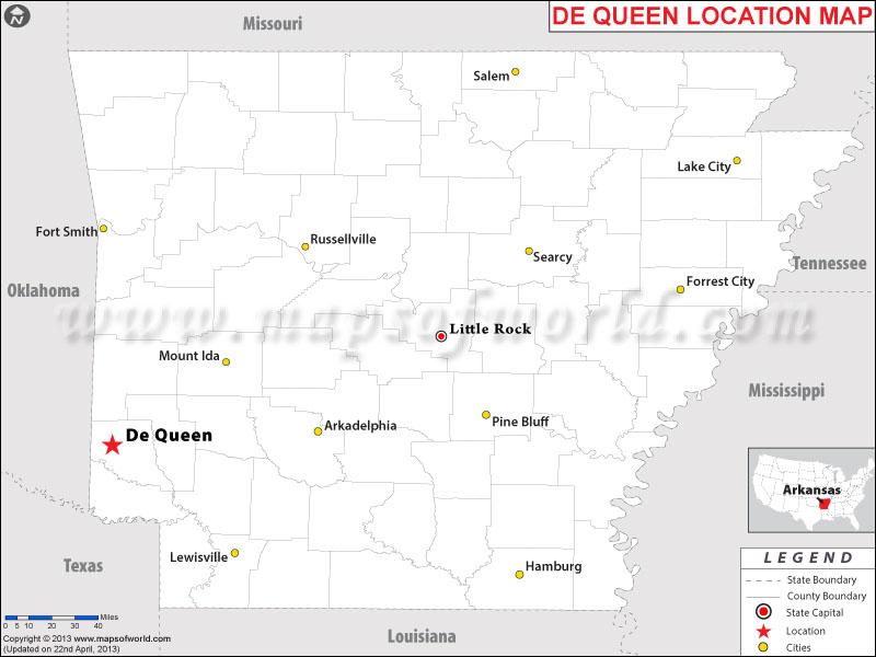 Where is De Queen, Arkansas