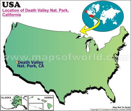 Where is Death Vally, California