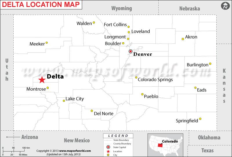 Where is Delta located in Colorado
