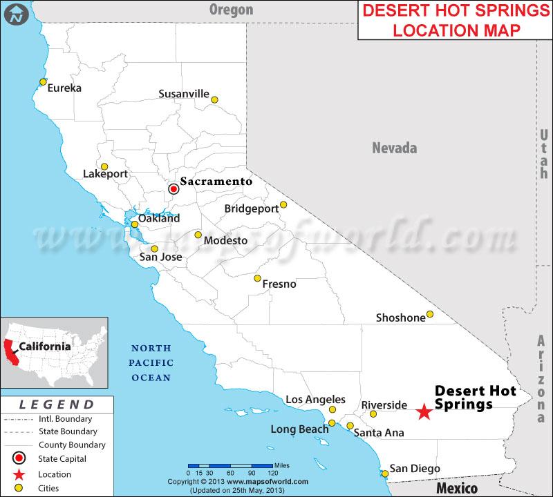Where is Desert Hot Springs California