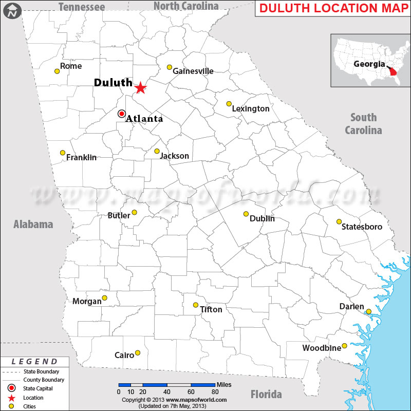 Where is Duluth, Georgia