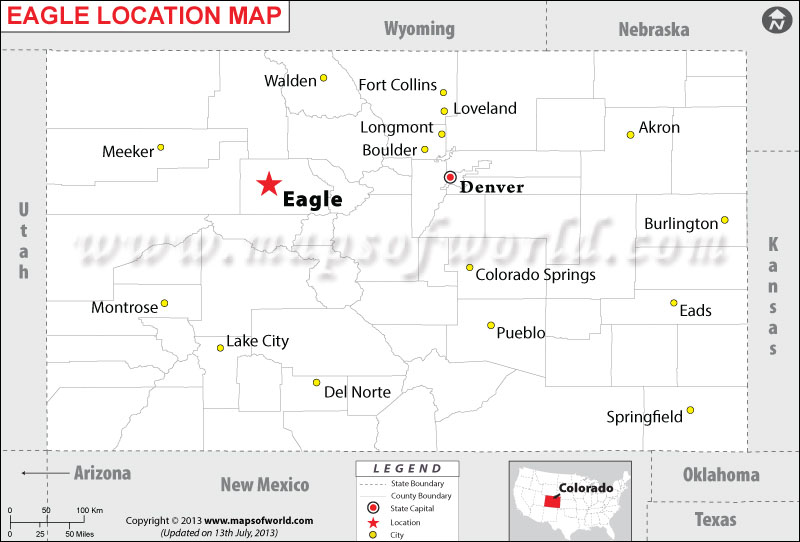 Where is Eagle located in Colorado