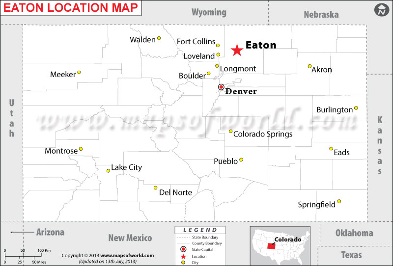 Where is Eaton located in Colorado