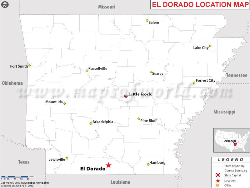 Where is El Dorado, Arkansas