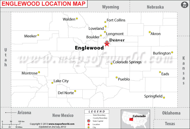 Where is Englewood located in Colorado
