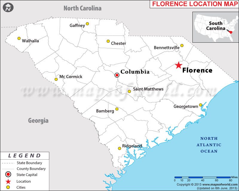 Where is Florence, South Carolina