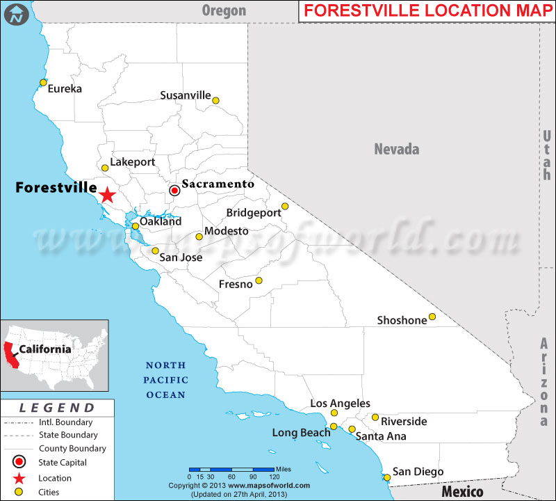 Where is Forestville, California
