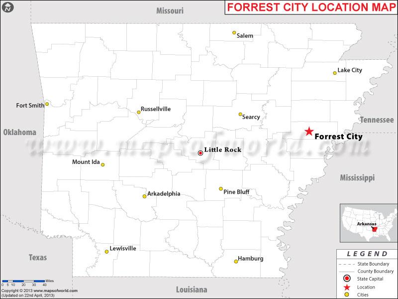 Where is Forrest City, Arkansas
