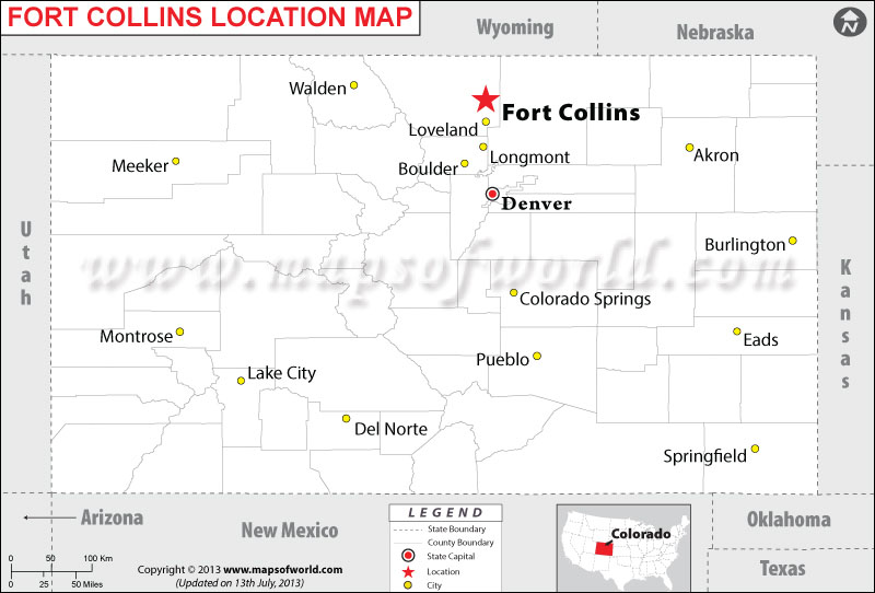 Where is Fort Collins located in Colorado