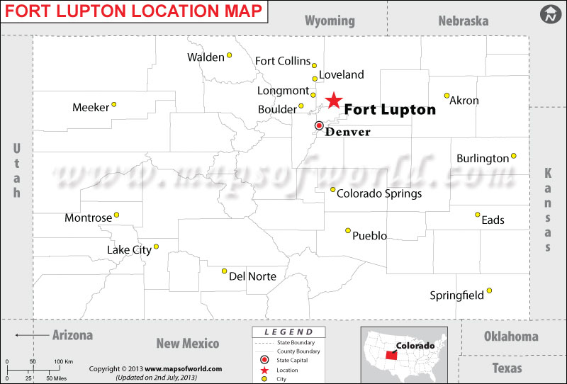 Where is Fort Lupton located in Colorado