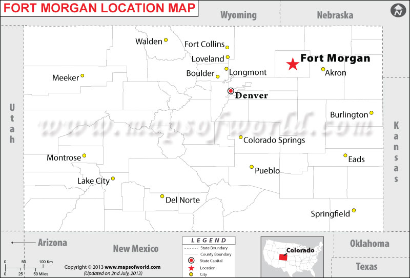 Where is Fort Morgan located in Colorado