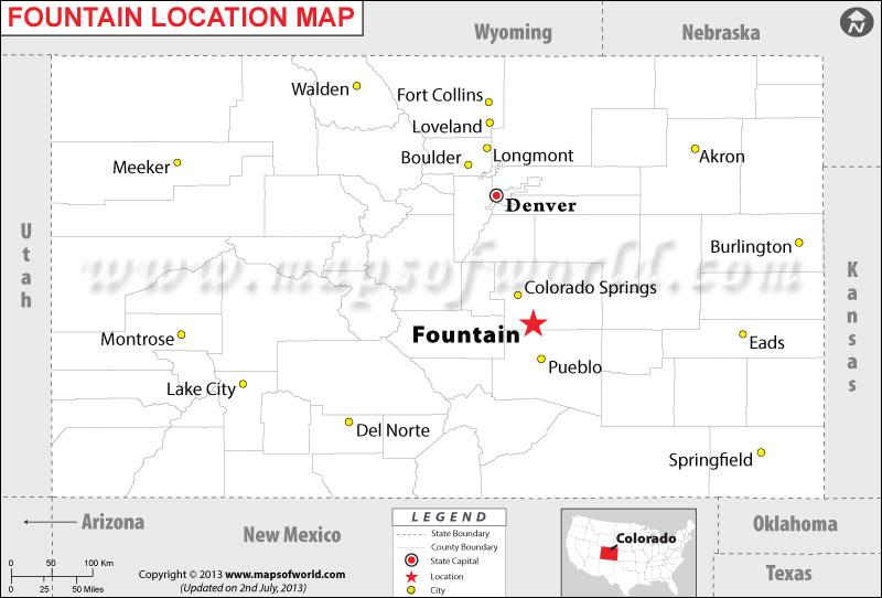 Where is Fountain located in Colorado