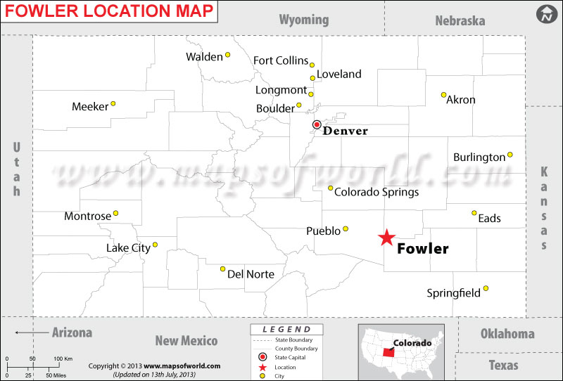 Where is Fowler located in Colorado