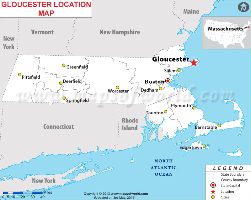 Where is Gloucester, Massachusetts
