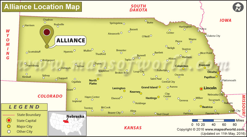 Where is Alliance, Nebraska