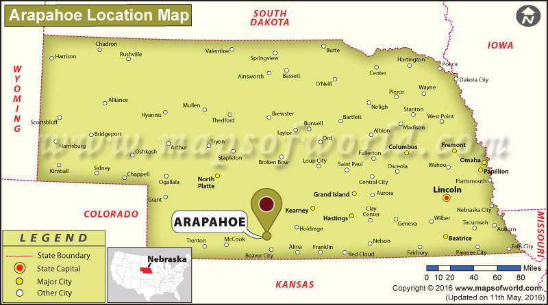 Where is Arapahoe, Nebraska