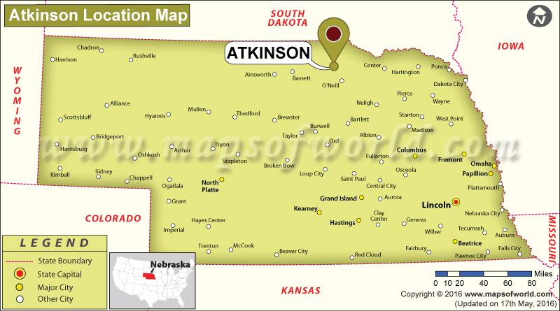 Where is Atkinson, Nebraska