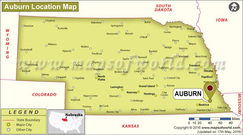 Where is Auburn, Nebraska