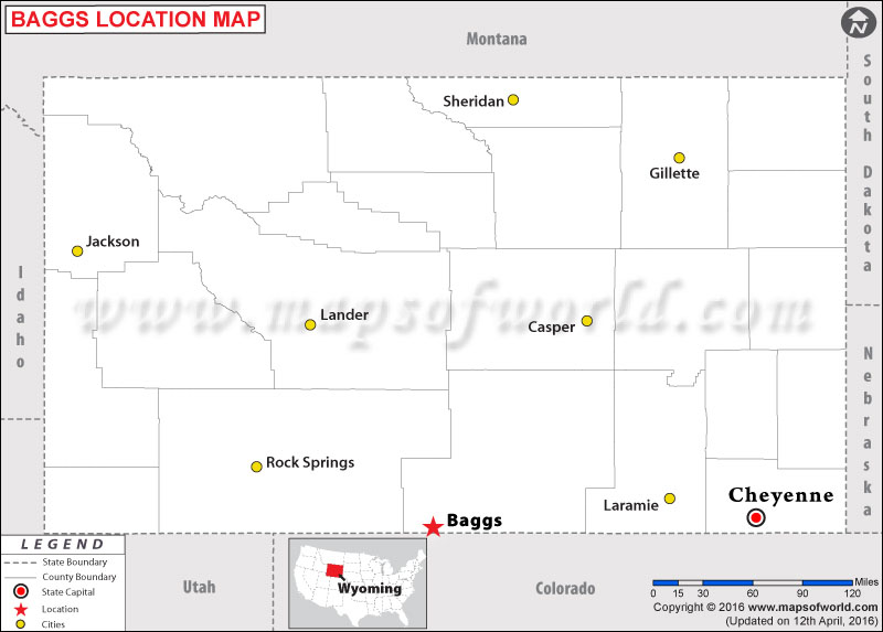 Where is Baggs , Wyoming