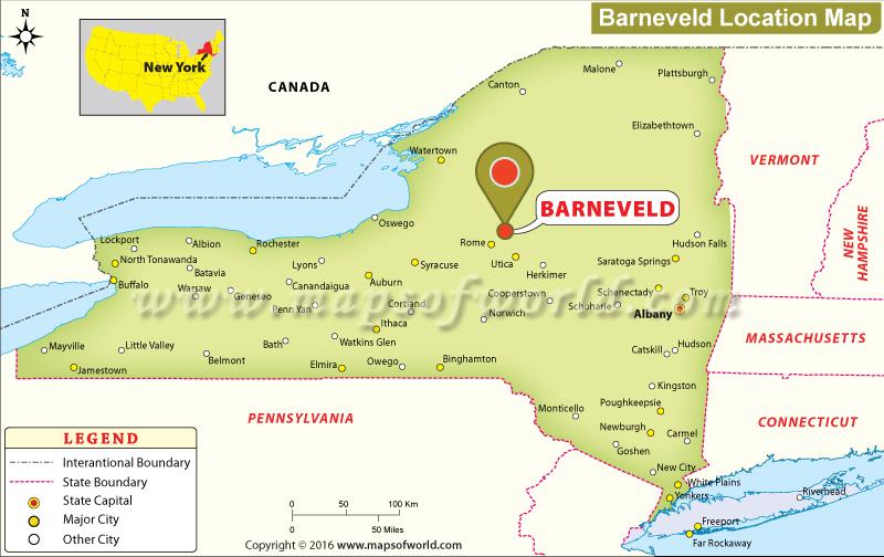 Where is Barneveld , New York