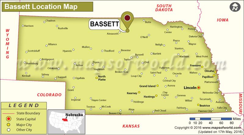 Where is Bassett, Nebraska