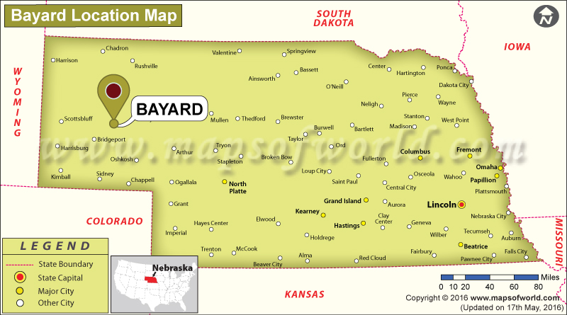 Where is Bayard, Nebraska