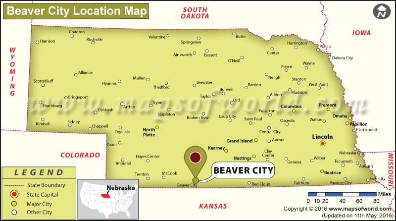 Where is Beaver City, Nebraska