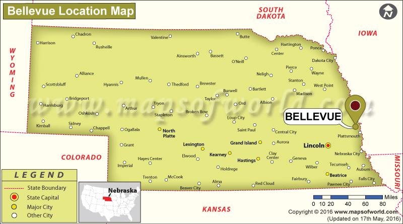 Where is Bellevue, Nebraska