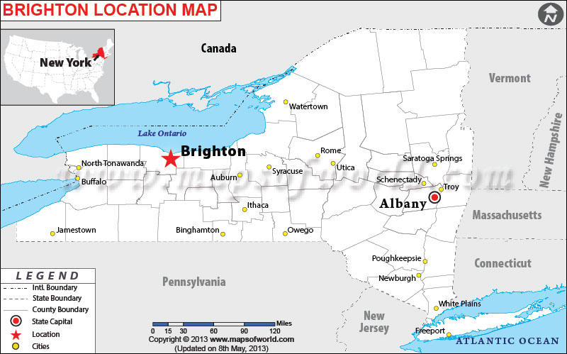 Where is Brighton, New York