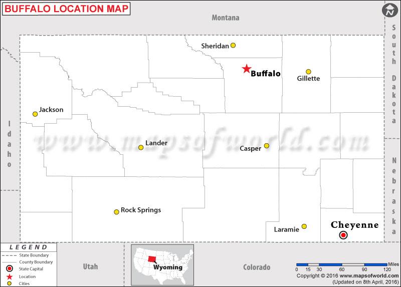 Where is Buffalo , Wyoming