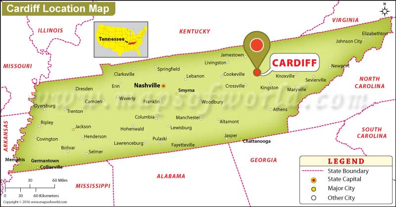 Where is Cardiff, Tennessee