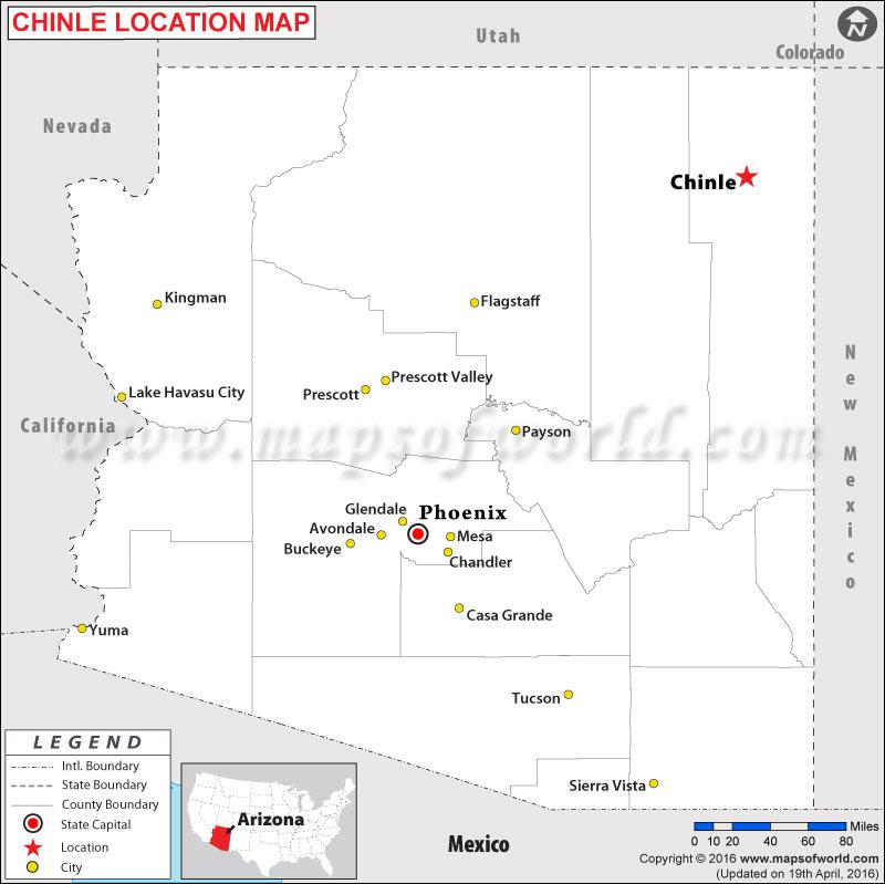 Where is Chinle , Arizona