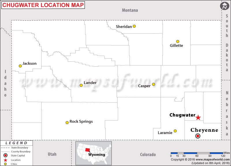 Where is Chugwater , Wyoming