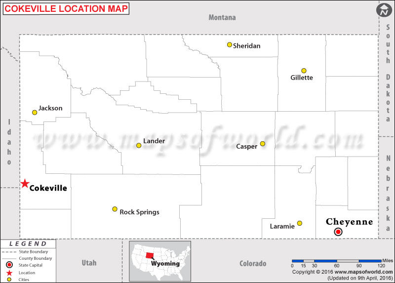 Where is Cokeville , Wyoming