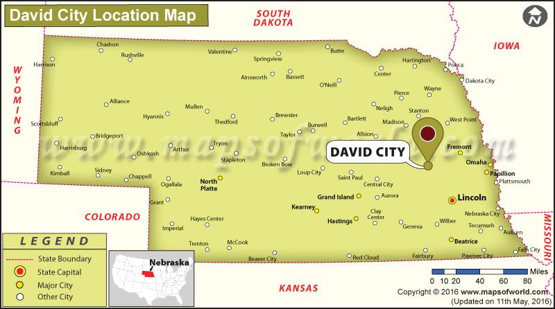 Where is David City, Nebraska
