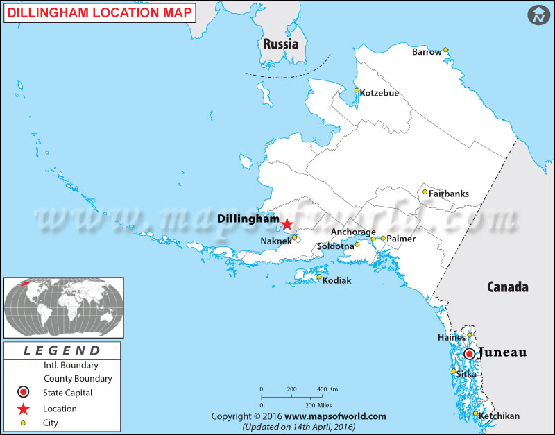 Where is Dillingham Located in Alaska, USA