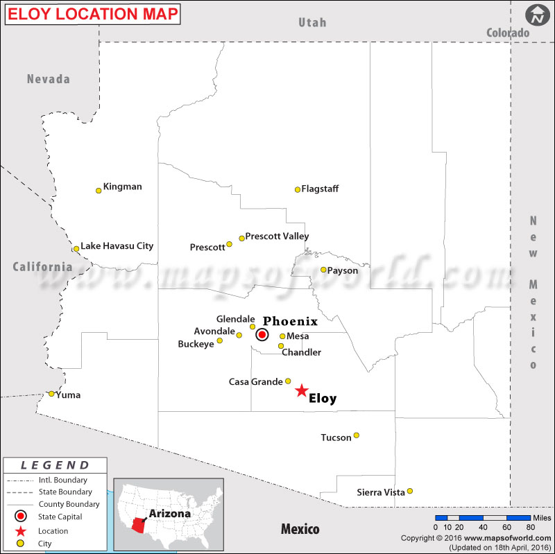 Where is Eloy , Arizona