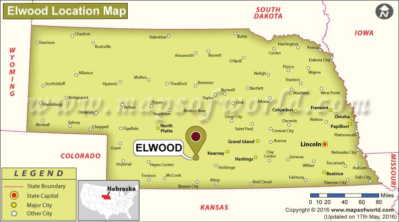Where is Elwood, Nebraska