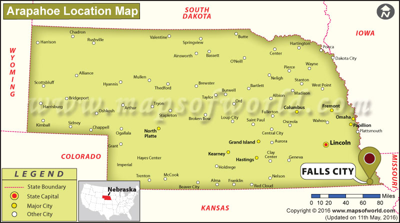 Where is Falls City, Nebraska