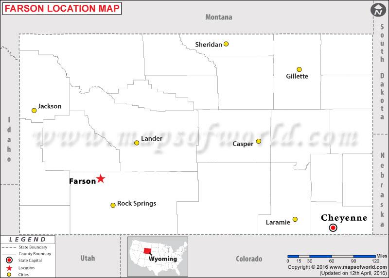 Where is Farson , Wyoming