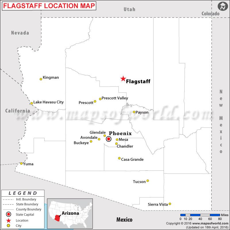 Where is Flagstaff , Arizona