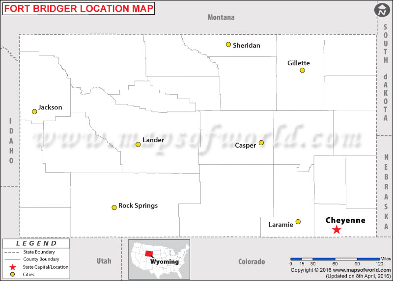Where is Fort Bridger, Wyoming