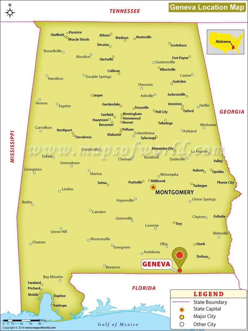 Where Is Geneva Located In Alabama Usa