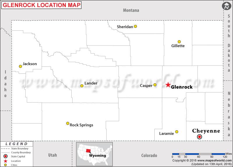 Where is Glenrock , Wyoming