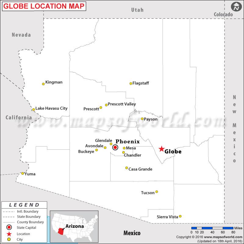 Where is Globe , Arizona