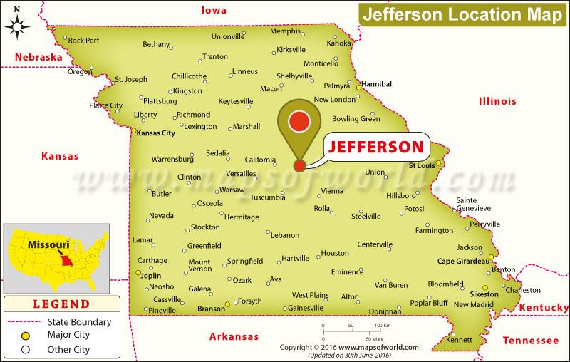 Where is Jefferson, Missouri
