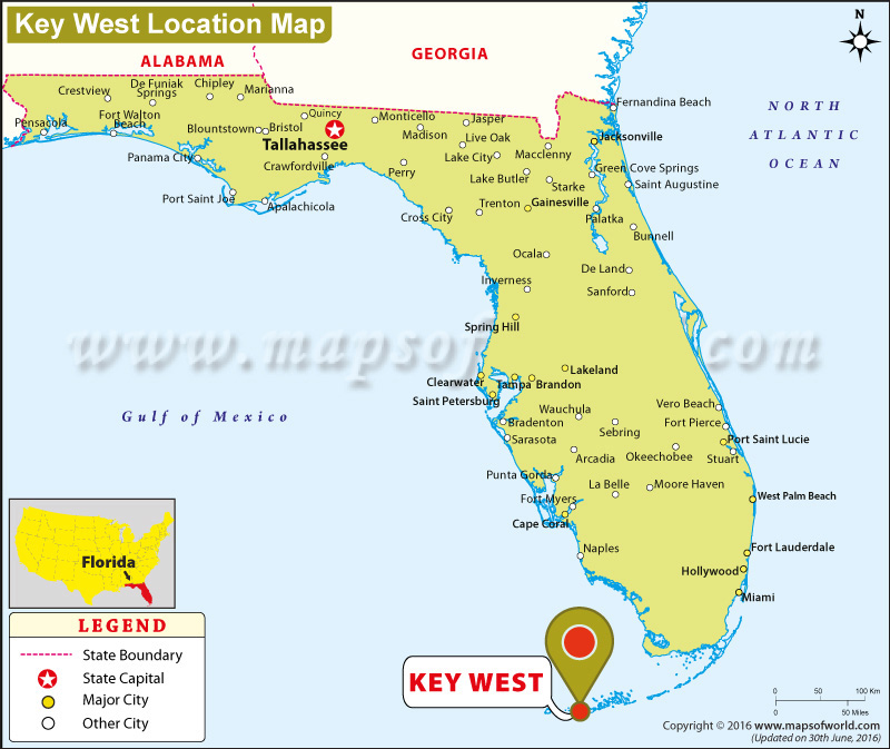 Where is Key West, Florida