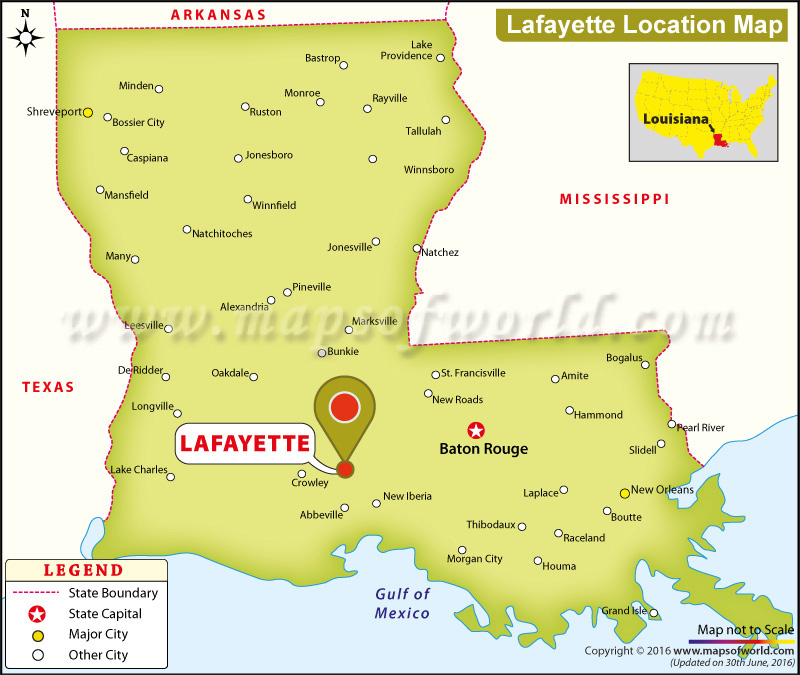 Where is Lafayette, Louisiana
