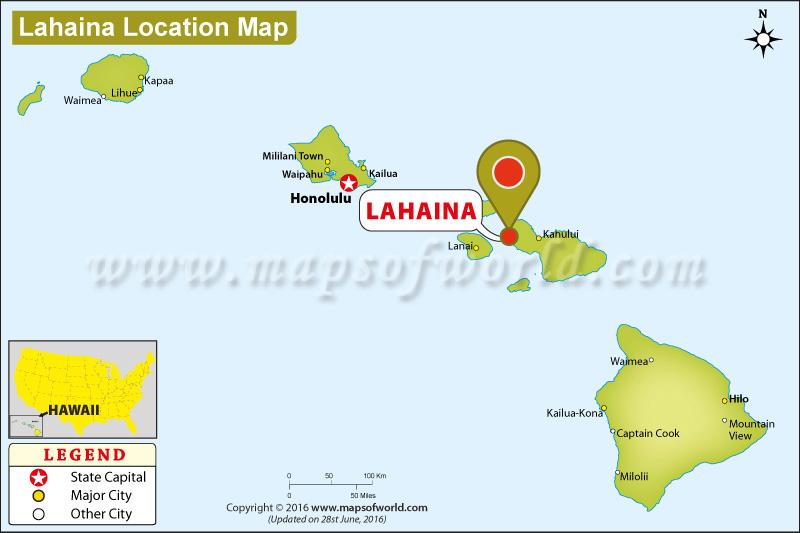 Where is Lahaina, Hawaii