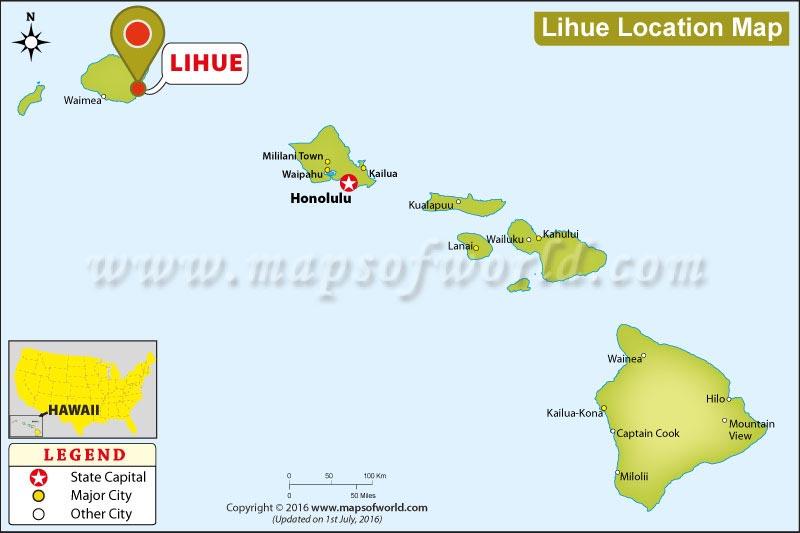 Where is Lihue, Hawaii
